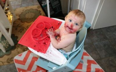 My Baby is Born to Eat; Baby Led Weaning or Self Feeding