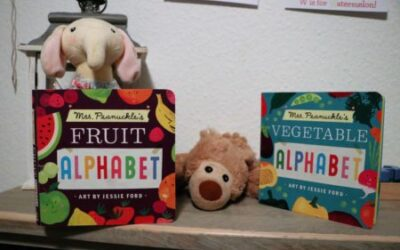 A Bananas Prequel: Gorgeous and Fun Mrs. Peanuckle's Fruit and Vegetable Board Books